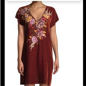 Johnny was ZOSIA DRAPE TUNIC DRESS